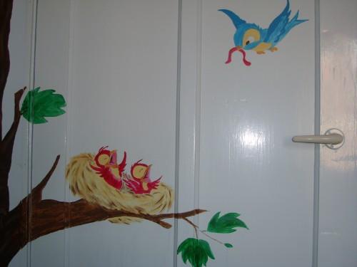 Feeling_Home_vogelnestje op deur
